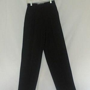 Vintage Ellen Tracy Black 100%Wool Pant
